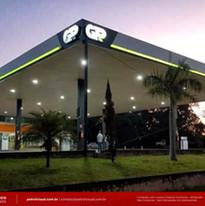 imagem de posto gasolina no brasil Duque de Caxias RJ