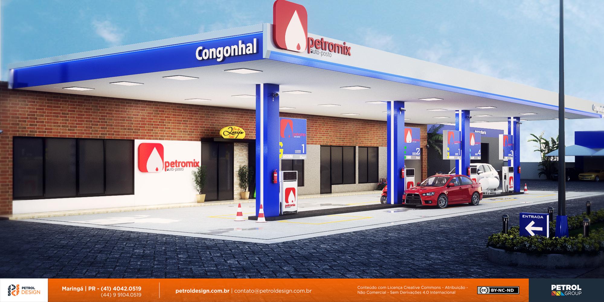 testeiras para postos de gasolina Joinville SC