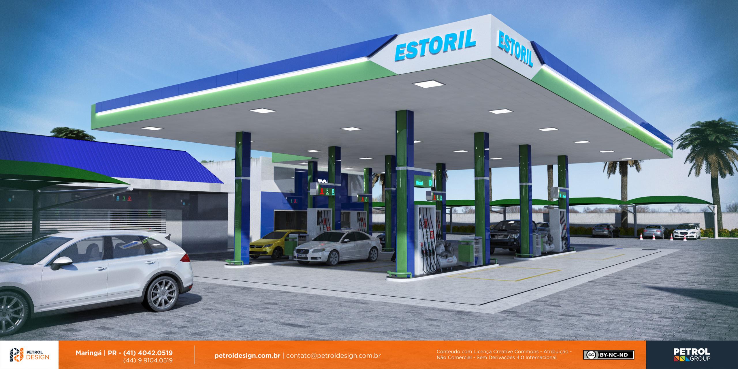 3d posto gasolina Campo Grande MS