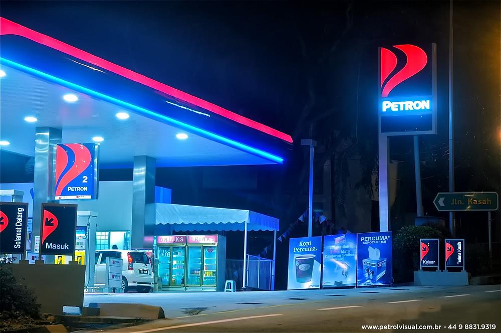 Importancia visual no posto de combustiveis