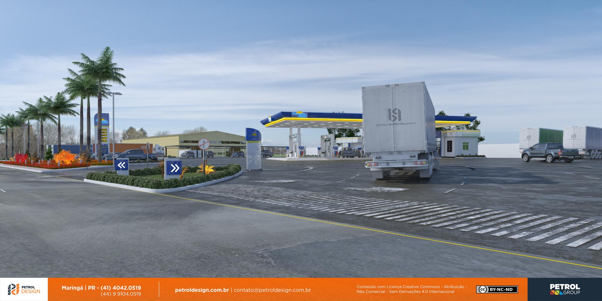 designgrafico posto de combustivel Linhares ES