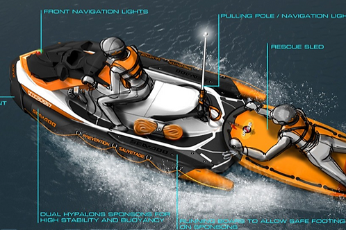 SEARCH AND RESCUE WATERCRAFT SYSTEM