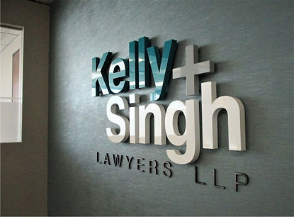 Reception Sign - Painted Acrylic Letters & Logo.jpg