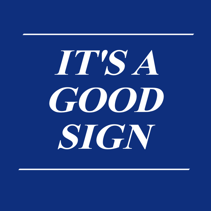Its a good sign signs banners burlington on