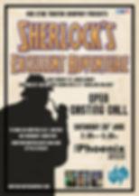 Sherlocks Excellent Adventure CASTING CA