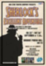 Sherlocks Excellent Adventure Poster Bos