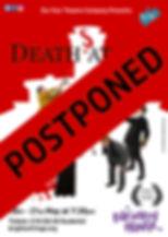 Deaths At Sea Poster Brighton postponed.