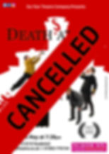 Deaths At Sea Poster Droitwich cancelled