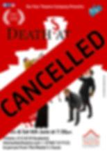 Deaths At Sea Poster Ledbury cancelled.j