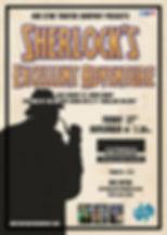 Sherlocks Excellent Adventure Poster Str