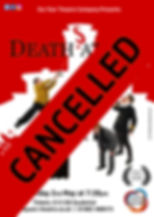 Deaths At Sea Poster Bromyard CANCELLED.