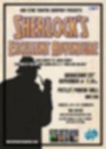 Sherlocks Excellent Adventure Poster Put