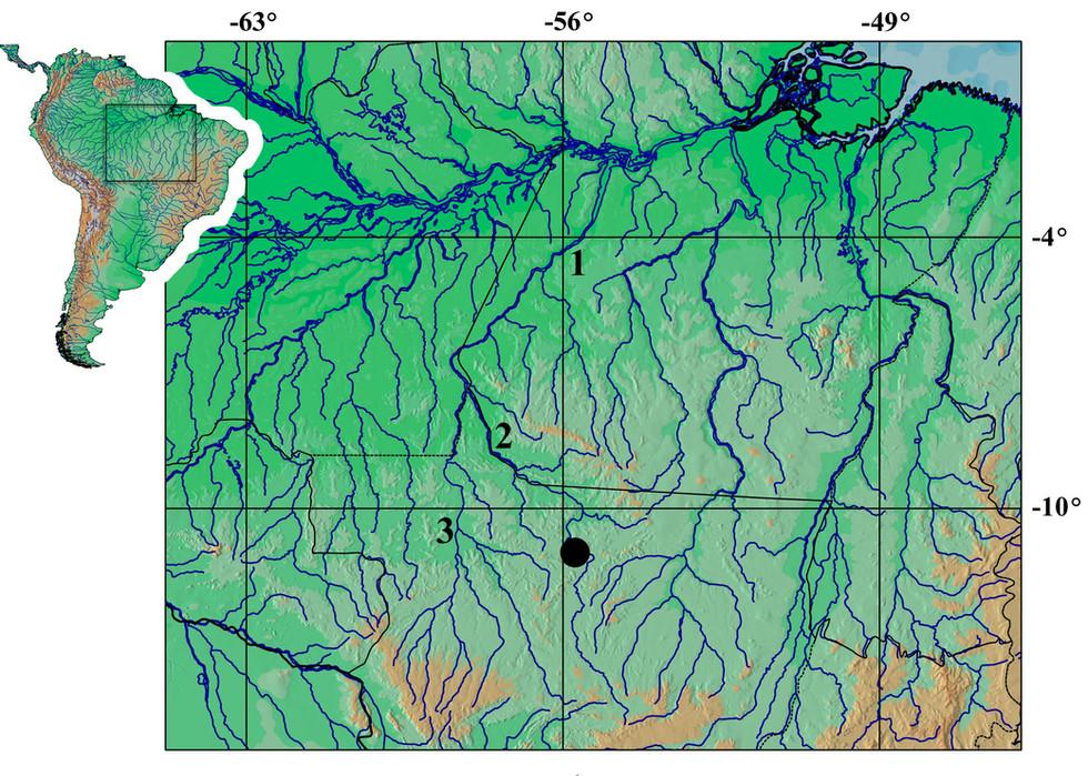 Tutorial para Elaborar Mapas de Distribuição Geográfica