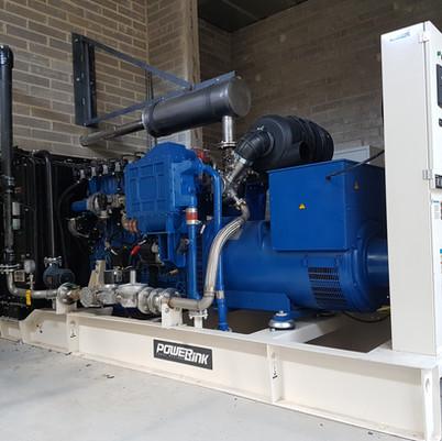 Powerlink Gas Engine - UK's First