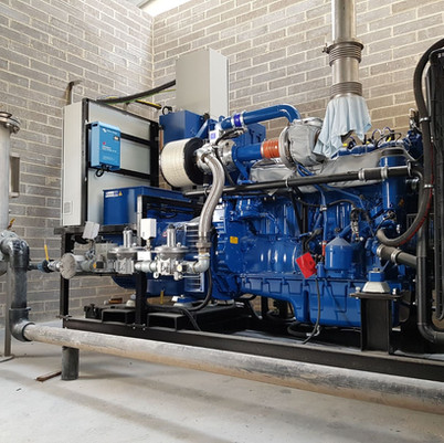 New Installation Of Our Scania Landfill Gas Engine