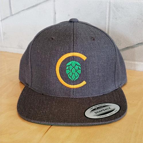 Flat Bill Logo Hat