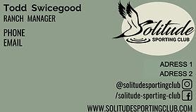 Sporting Club Biz Card