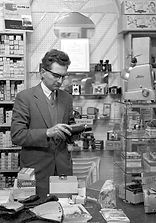William R. Hart in his shop 1960