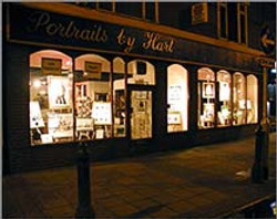 portraits by hart shop frontage