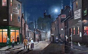 Oil Painting of Dudley - Ken Wood, Artist