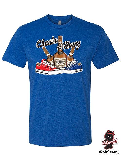 Limited Edition Chucks and Henny Tshirt