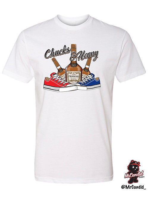 Limited Edition Chucks and Henny Tshirt
