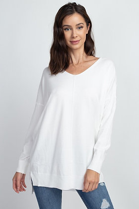 Classic Comfy Sweater, Off White