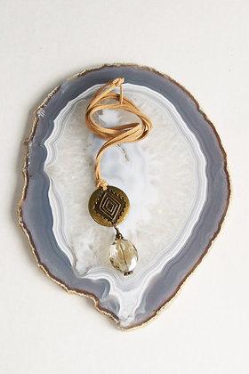 Concho Drop Necklace