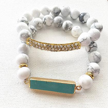 Marbled Majestic Bracelet Set