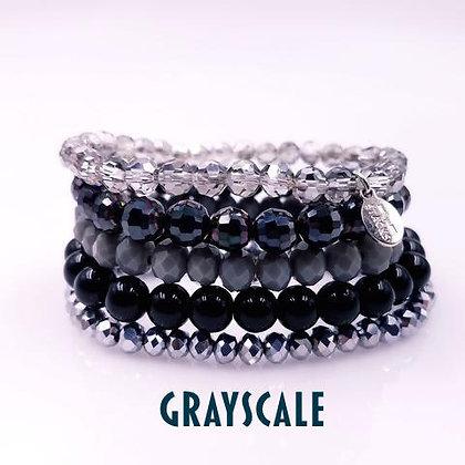 Stack Bracelets, Grays