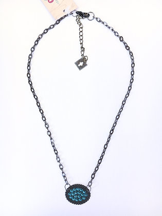Black Sparkle Necklace