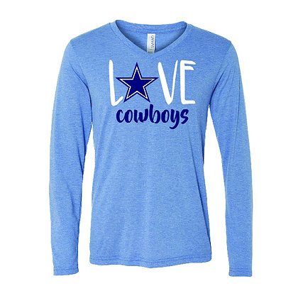 Love Cowboys Tee