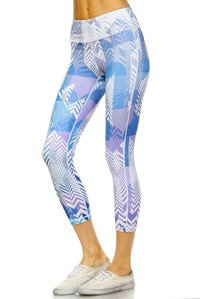 Geometric Active Wear Leggings