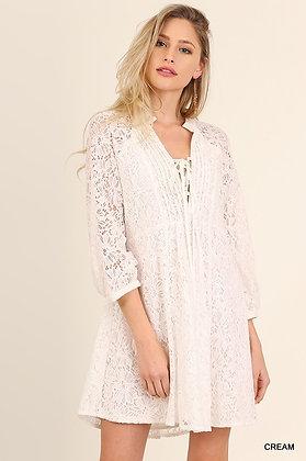 Pretty In Lace Dress