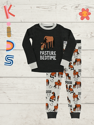 Pasture Bedtime Kids PJ's