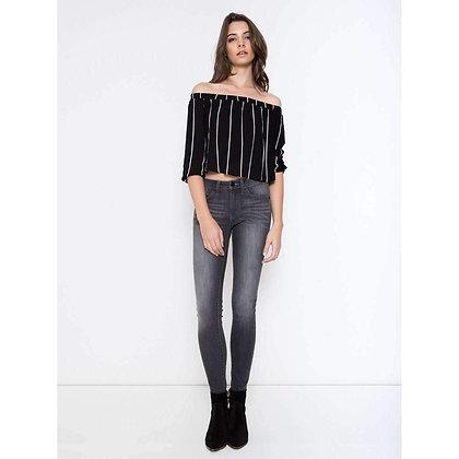 KanCan Gray Faded Skinny Jean