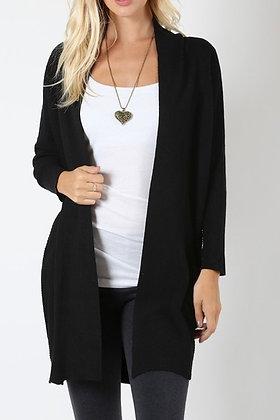 Black Cardi Sweater
