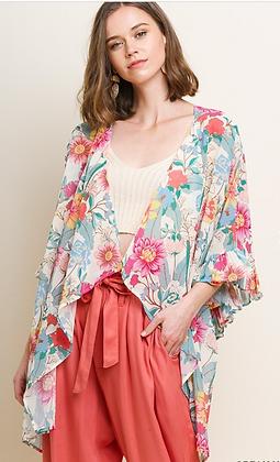 Fabulous Floral Kimono
