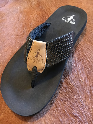 Corkys Flip Flops, Black