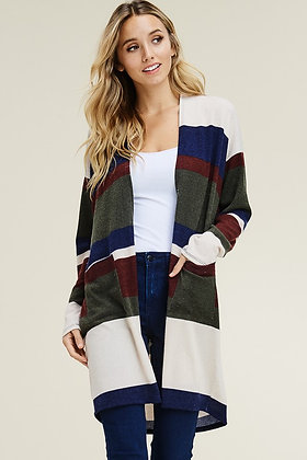 Our FAV Stripe Cardigan