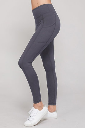 Buttery Soft Leggings, Charcoal