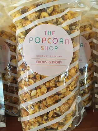 Ebony and Ivory Gourmet Popcorn