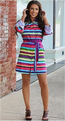 Serape Tunic Dress