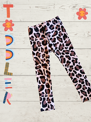 Leopard Leggings, Toddler