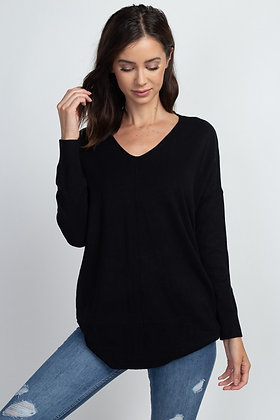 Classic Comfy Sweater, Black