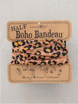 Tan Jaguar Half Boho Bandeau