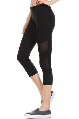 Black Active Wear Leggings