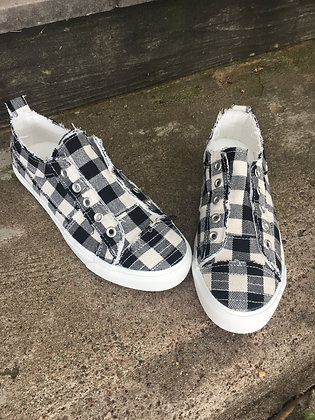 Corkys Sneakers in Plaid