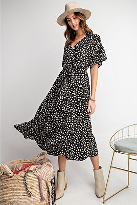 Dot Midi Dress