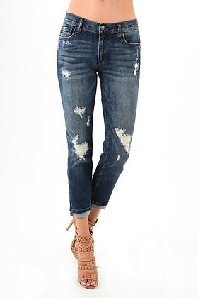 Judy Blue Relaxed Distressed Jeans